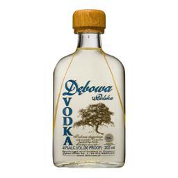 Wódka dębowa polska piersiówka 0,5l 40%