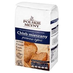 Chleb mieszany pszenno-żytni Mieszanka do domowego wypieku chleba