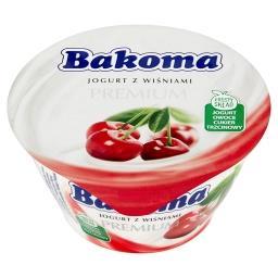 Premium Jogurt z wiśniami