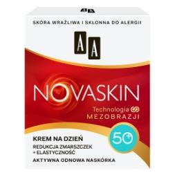 Novaskin 50+ krem na dzień redukcja zmarszczek + elastyczność 50 ml