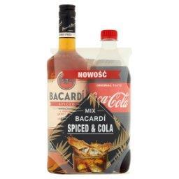 Spiced Napój spirytusowy na bazie rumu  i Coca-Cola Napój gazowany 850 ml