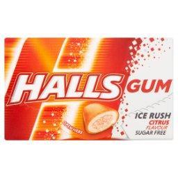 Gum Ice Rush Bezcukrowa guma do żucia o smaku mandarynkowym