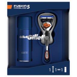 Zestaw podarunkowy zmaszynką do golenia Fusion5 ProGlide + żel do golenia