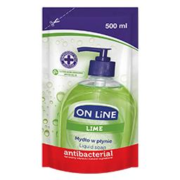 Mydło refil antybakteryjne lime 500 ml
