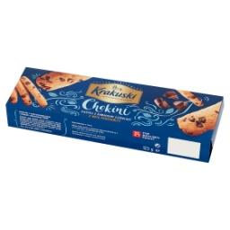 Chokini Ciastka z kawałkami czekolady z nutą pomarańczy