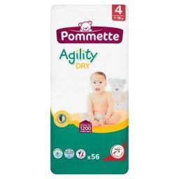 Agility Dry Pieluszki dla dzieci rozmiar 4 7-18 kg