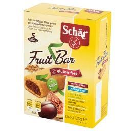 Fruit Bar Bezglutenowy baton z nadzieniem z fig i śliwek 125 g (5 sztuk)