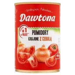 Pomidory krojone z cebulą