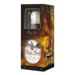 Whisky Glen gate 40% alk. 0,7 l + szklanka