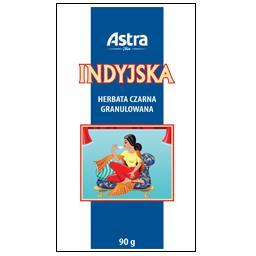 Herbata czarna granulowana indyjska