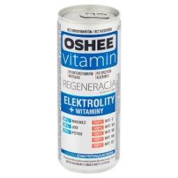 Vitamin Regeneracja Suplement diety napój gazowany o smaku mięty-cytryny
