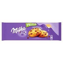 Pieguski Choco Cookie Ciasteczka z kawałkami czekolady mlecznej z mleka alpejskiego