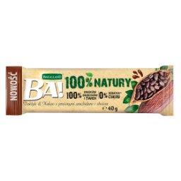 Ba! Baton owocowy daktyle & kakao z prażonymi arachidami i zbożem
