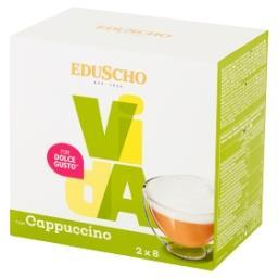 Vida Cappuccino Kawa mielona w kapsułkach (8 x 7 g) i mleko w kapsułkach (8 x 16 g)