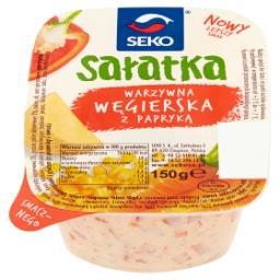 Sałatka warzywna węgierska z papryką