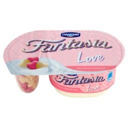 Fantasia Love Jogurt kremowy ze zbożowymi serduszkami z białą czekoladą