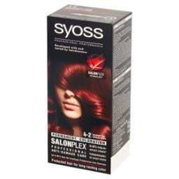 SalonPlex Farba do włosów mahoniowy brąz 4-2