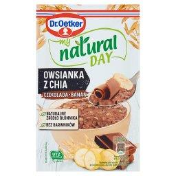 My Natural Day Owsianka z chia czekolada-banan