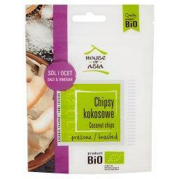 Bio chipsy kokosowe prażone sól i ocet
