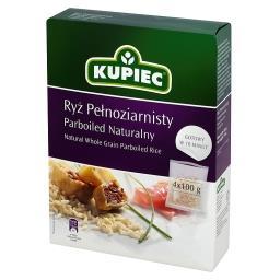 Ryż pełnoziarnisty parboiled naturalny 400 g (4 torebki)