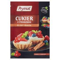Cukier z cynamonem do ciast i deserów