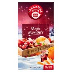 World of Fruits Magic Moments Aromatyzowana mieszanka herbatek owocowych 50 g