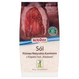 Sól różowa naturalna kamienna z Kopalni Soli Kłodawa