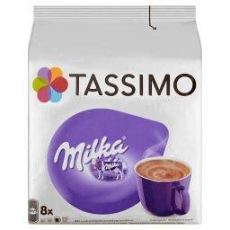 Milka Słodzony napój kakaowy w proszku z odtłuszczonym mlekiem w proszku 240 g (8 kapsułek)