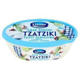 Smak Sezonu Tzatziki Filety śledziowe z ogórkiem jogurtem i czosnkiem