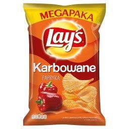 Karbowane Papryka Chipsy ziemniaczane
