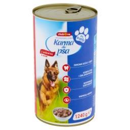 Pełnoporcjowa karma dla dorosłych psów z wołowiną w sosie