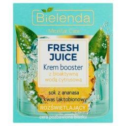 Fresh Juice Krem booster z bioaktywną wodą cytrusową rozświetlający
