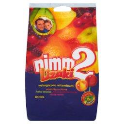 Lizaki wzbogacone witaminami oraz sokiem w 4 owocowy...