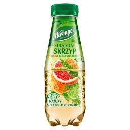 Uroda Napój owocowo-ziołowy skrzyp cytrusy & zielona herbata + cynk biotyna