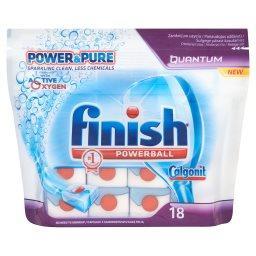 Powerball Quantum Power & Pure Kapsułki do mycia naczyń w zmywarkach  (18 sztuk)