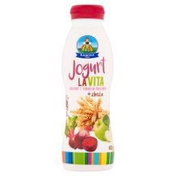 Jogurt LaVita jabłkowy z burakiem ćwikłowym + zboża