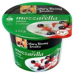 Ser mozzarella mini w zalewie