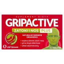 Zatoki i nos plus Suplement diety 14 tabletek
