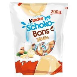 Schoko-Bons Czekoladki z białej czekolady z nadzieniem mlecznym i orzechami