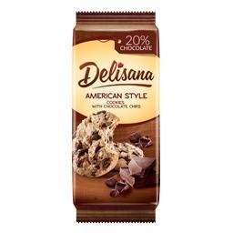 American Style ciastka z kawałkami czekolady 20% 180g
