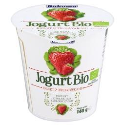 Jogurt Bio z truskawkami