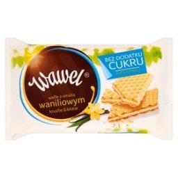 Wafle o smaku waniliowym bez dodatku cukru