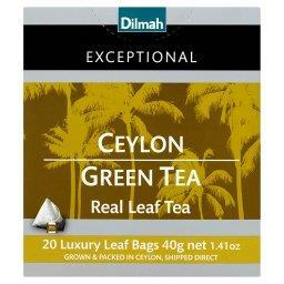 Exceptional Zielona cejlońska herbata 40 g (20 torebek)