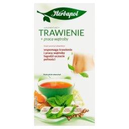Trawienie + praca wątroby Suplement diety herbatka z...
