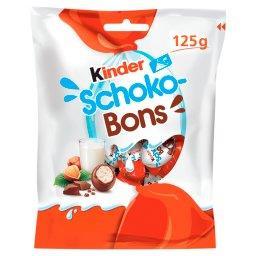 Schoko-Bons Czekoladki z mlecznej czekolady z nadzieniem mlecznym i orzechami