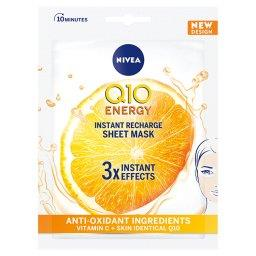 Q10 Plus C Anti-Wrinkle + Energy 10-minutowa maska w płachcie