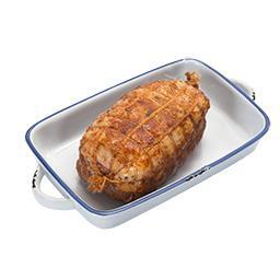 Rolada z fileta z gęsi faszerowana nadzieniem z suszoną śliwką
