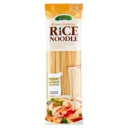 Makaron z mąką z brązowego ryżu jaśminowego