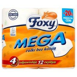 Mega Papier toaletowy 4 rolki