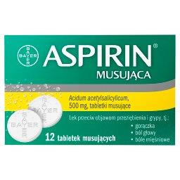 Musująca Lek przeciw objawom przeziębienia i grypy 12 sztuk